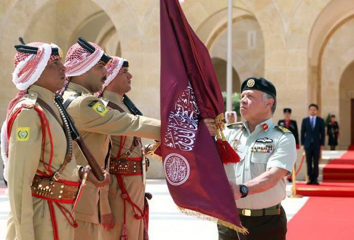 ملك الأردن عبدالله