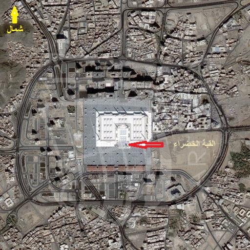صورة جوية للمسجد النبوي