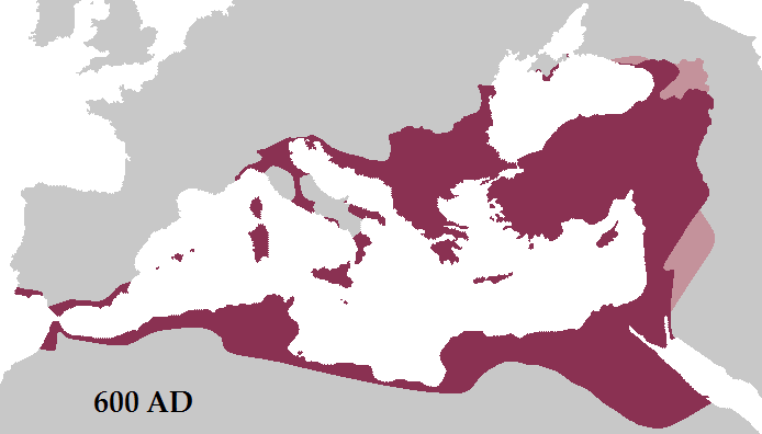 الأمبراطورية الرومانية في صدر الأسلام